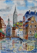 tableau architecture : Strasbourg N° : 12 DS 01